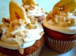 Banana Cardamom Cupcakes