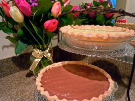 Coconut & Chocolate Cream Pies