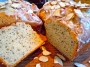 Almond Poppyseed Bread with Almond Glaze