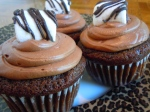 Chocolate Cupcakes with Chocolate Marshmallow Buttercream Frosting