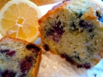 Lemon Blueberry Bread with Coconut
