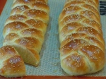 Golden Sesame Braids
