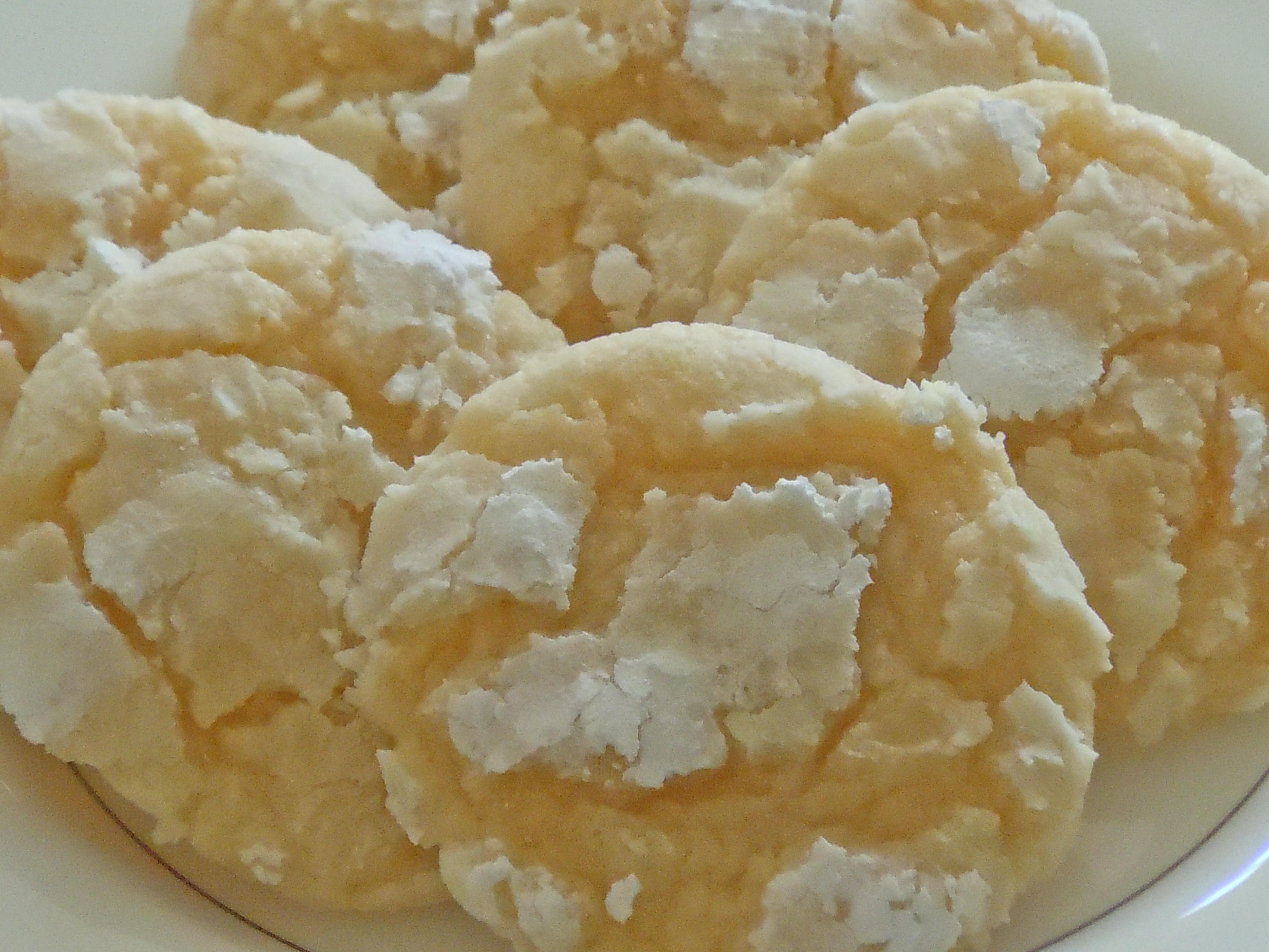 Lemon Drop Cookies With Cake Mix