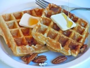 Harvest Grain & Pecan Waffles