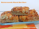 Butterscotch Mixed Nut Bars