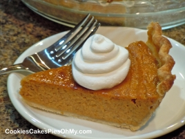 Pumpkin Eggnog Pie