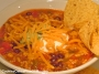 Chorizo & Rice Taco Soup