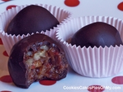 Cherry Chocolate Pecan Truffles