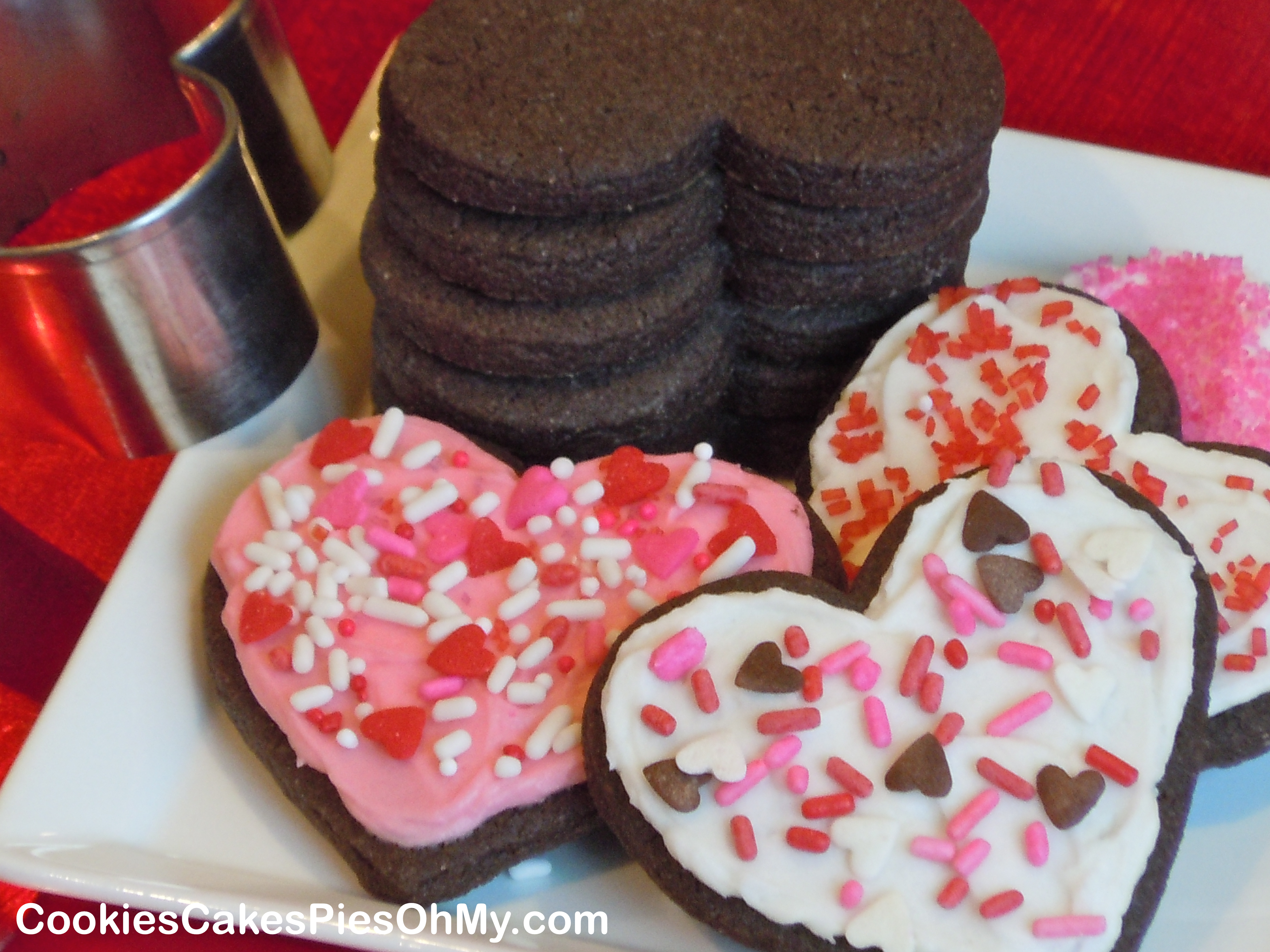 Rolled frosted sugar cookie recipe
