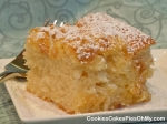 Coconut Toffee Ricotta Cheese Cake