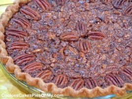 Dark Chocolate Pecan Pie 1