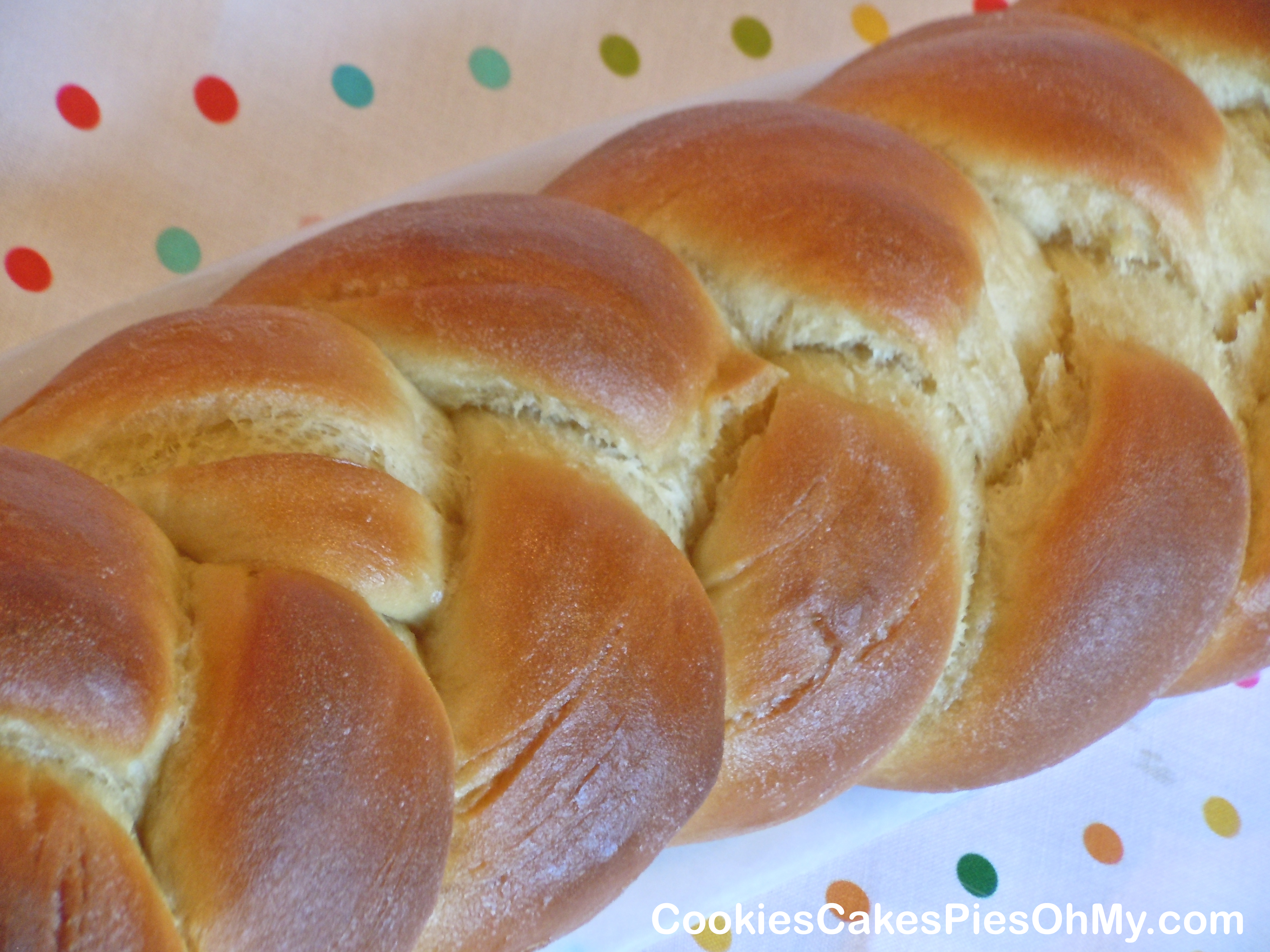 Sweet Milk Bread | CookiesCakesPiesOhMy