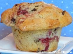 Raspberry Chocolate Chip Muffins
