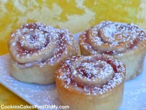 Strawberry Danish Rolls