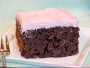 Chocolate Oat Raspberry Cake with Raspberry Buttercream