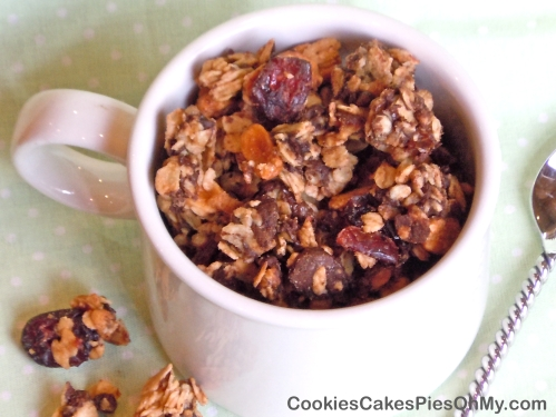 Dark Chocolate Peanut Granola