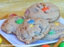 Peanut M&M Pretzel Cookies