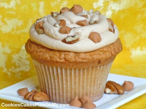 Butterscotch Cupcakes 1