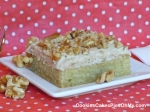 Maple Nut Sheet Cake