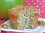 Apple Walnut Cardamom Muffins