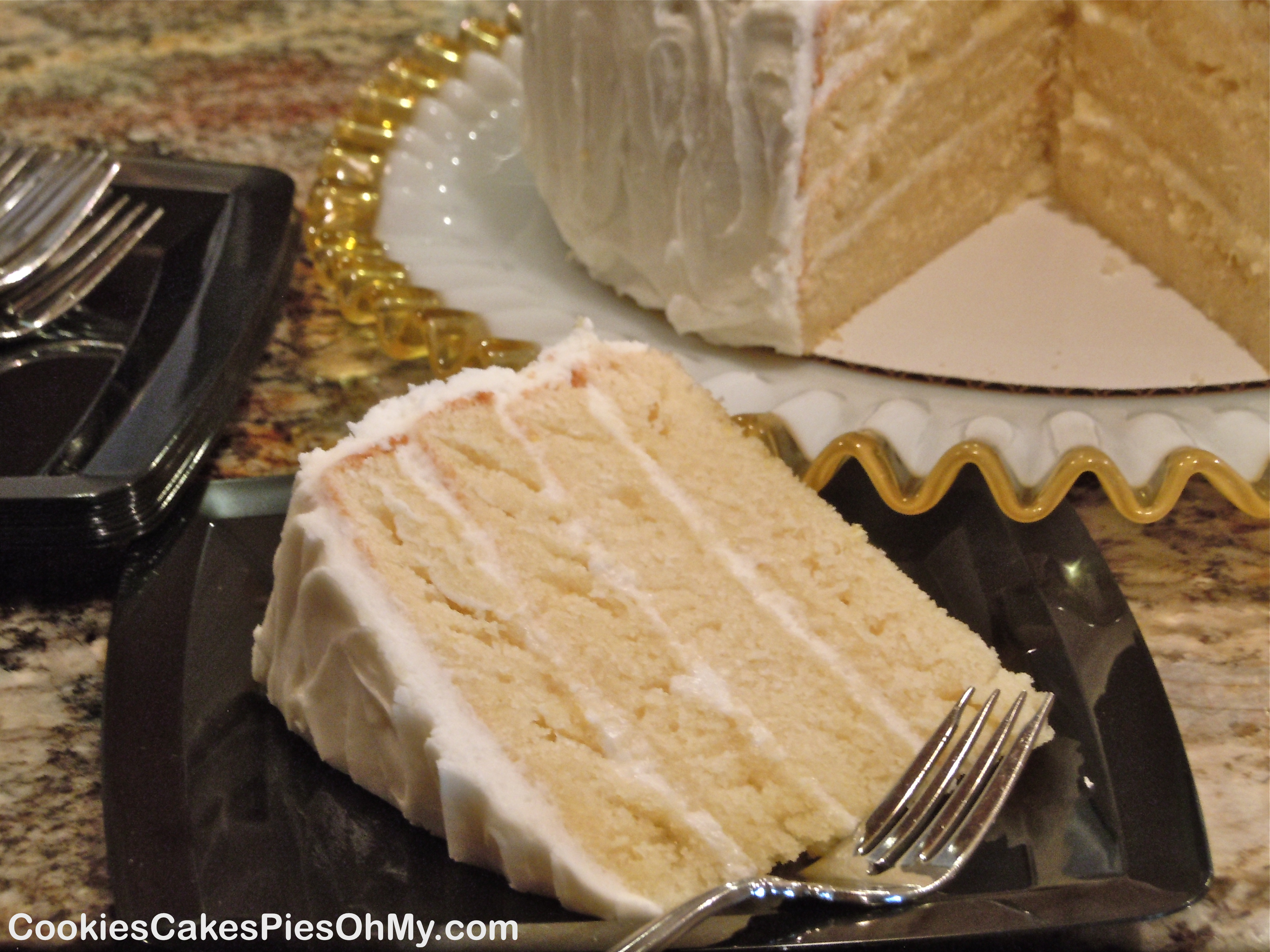 Cake With Cream Cheese Frosting : Lemonade Cake with Lemonade Cream Cheese Frosting ...