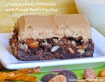 Peanutty Pretzel Brownies
