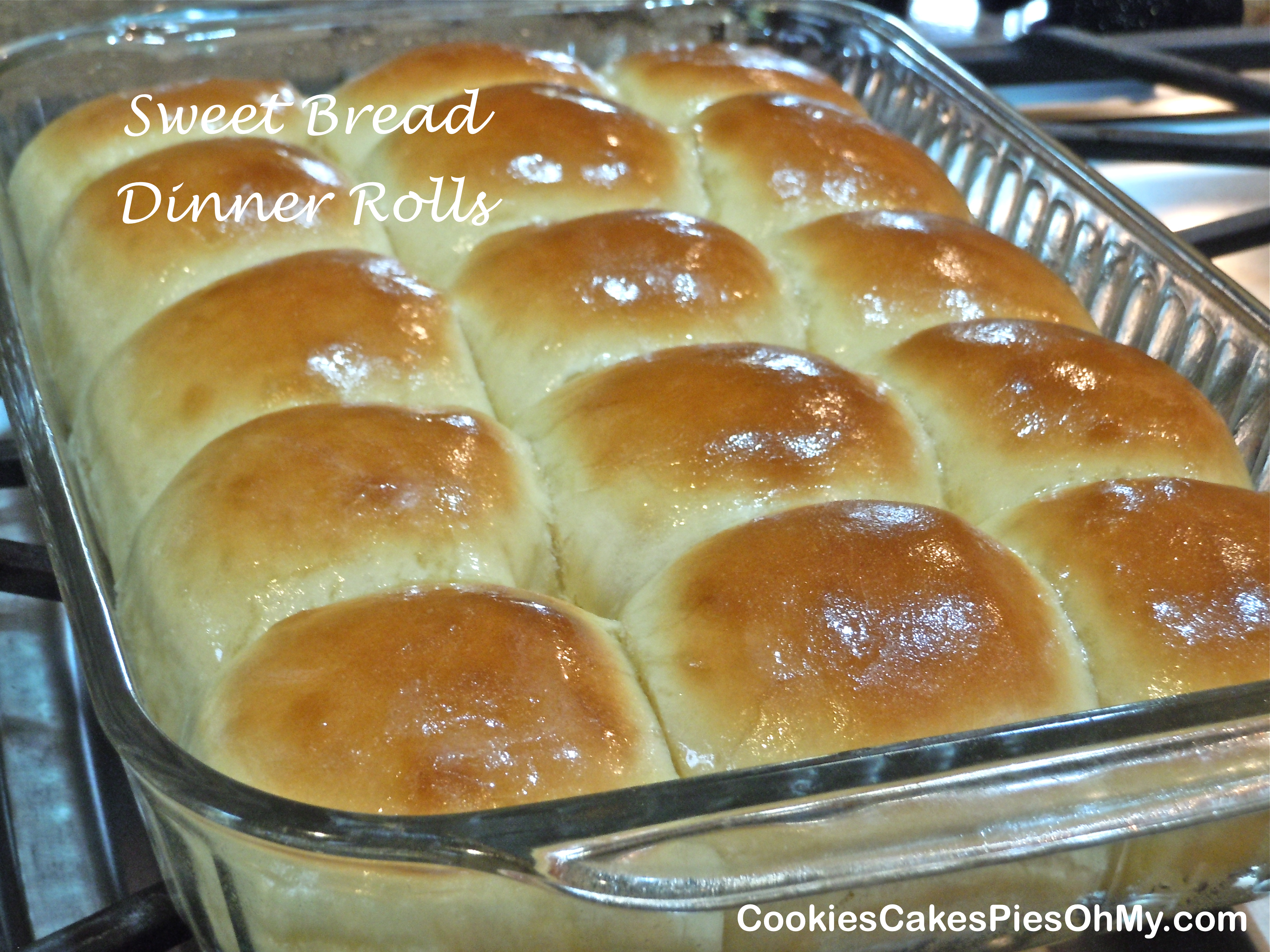 Sweet Bread Rolls | CookiesCakesPiesOhMy