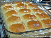 Sweet Bread Dinner Rolls