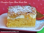 Pumpkin Cream Cheese Snack Cake