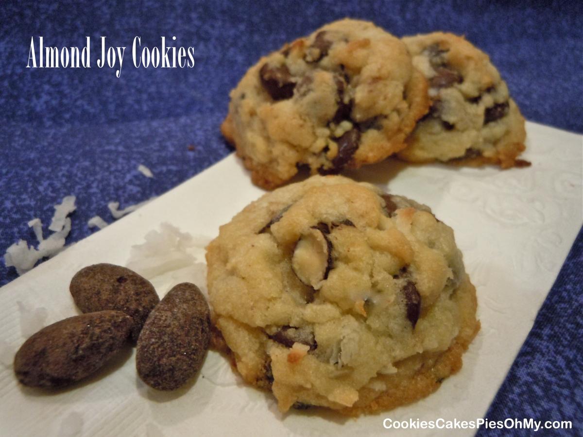 Almond Joy Cookies | CookiesCakesPiesOhMy