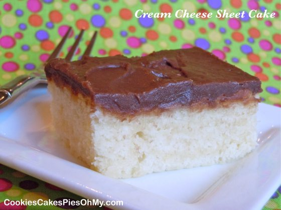 Cream Cheese Sheet Cake