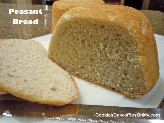 Peasant Bread 1