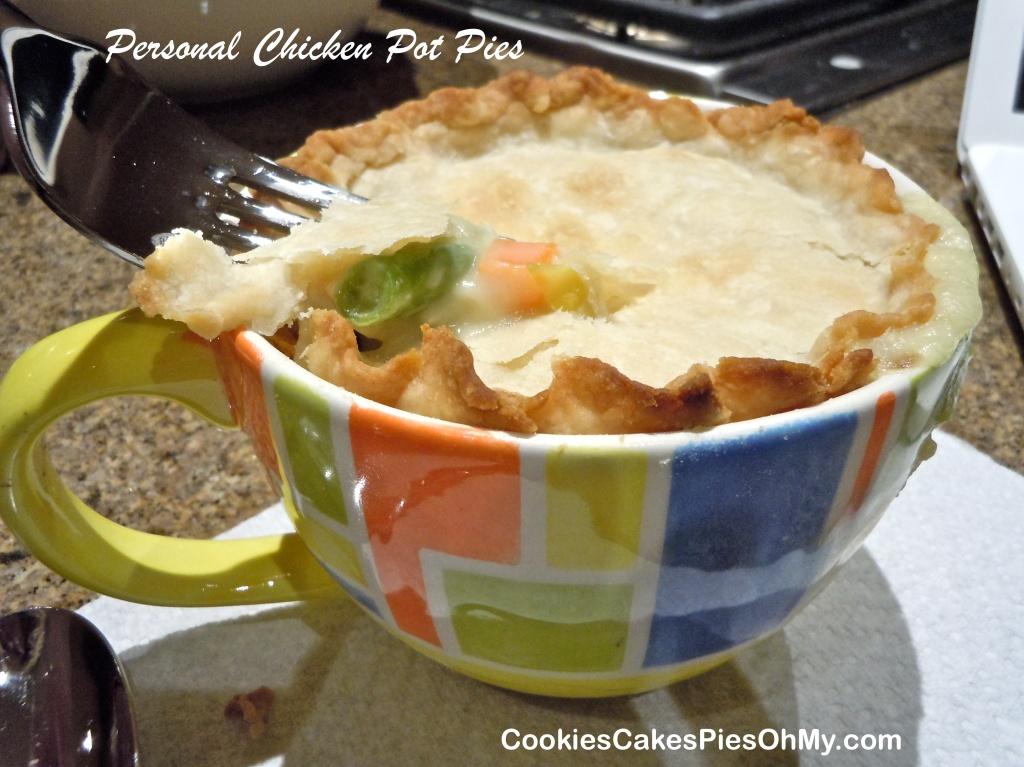 Personal Chicken Pot Pies 1