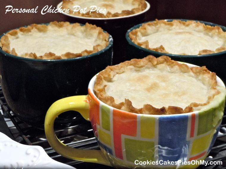 Personal Chicken Pot Pies