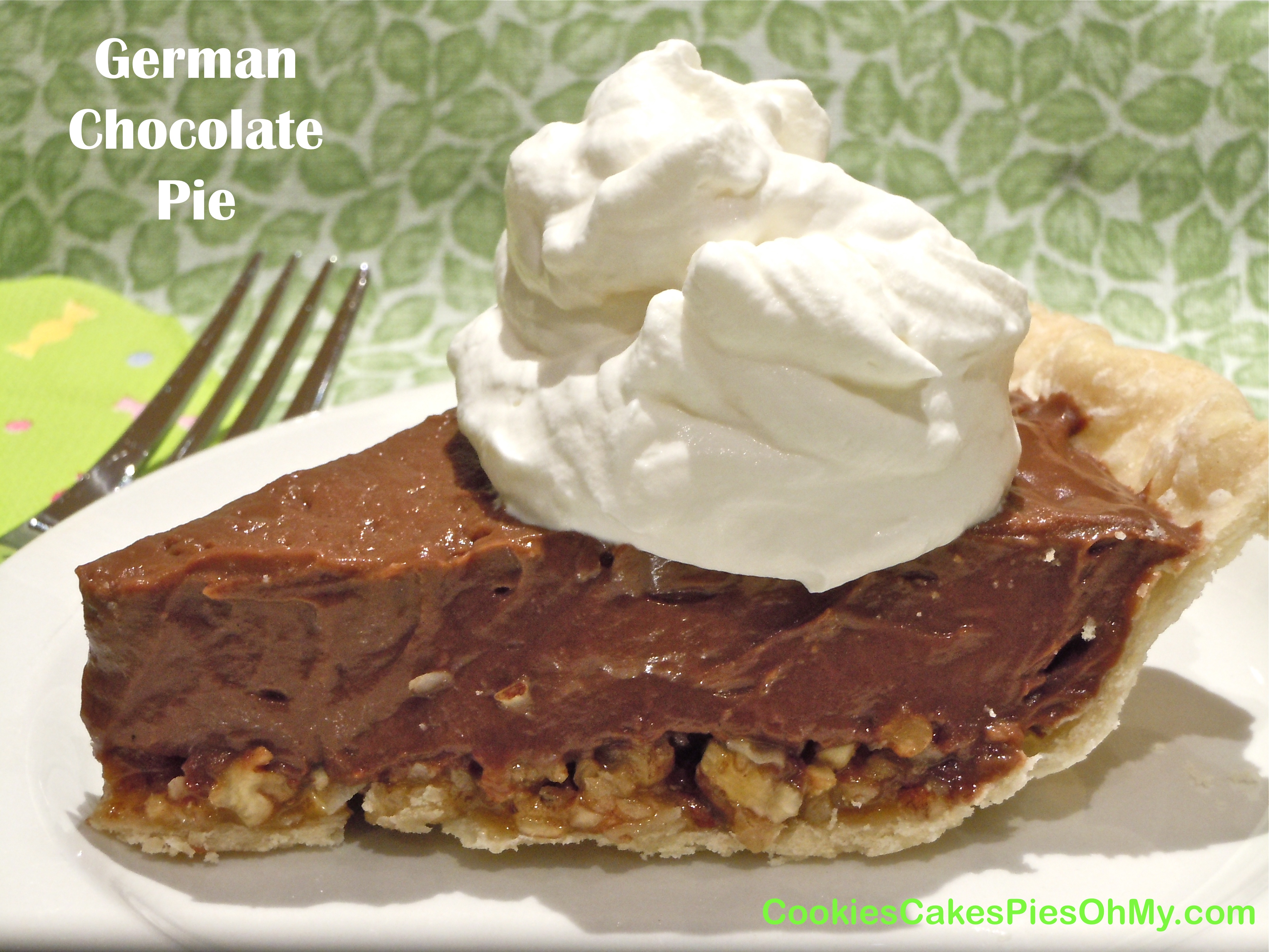 chocolate cream pie frozen german sweet chocolate german chocolate pie ...