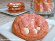 Strawberry Malt Cookies