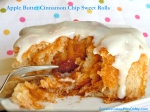 Apple Butter Cinnamon Chip Sweet Rolls