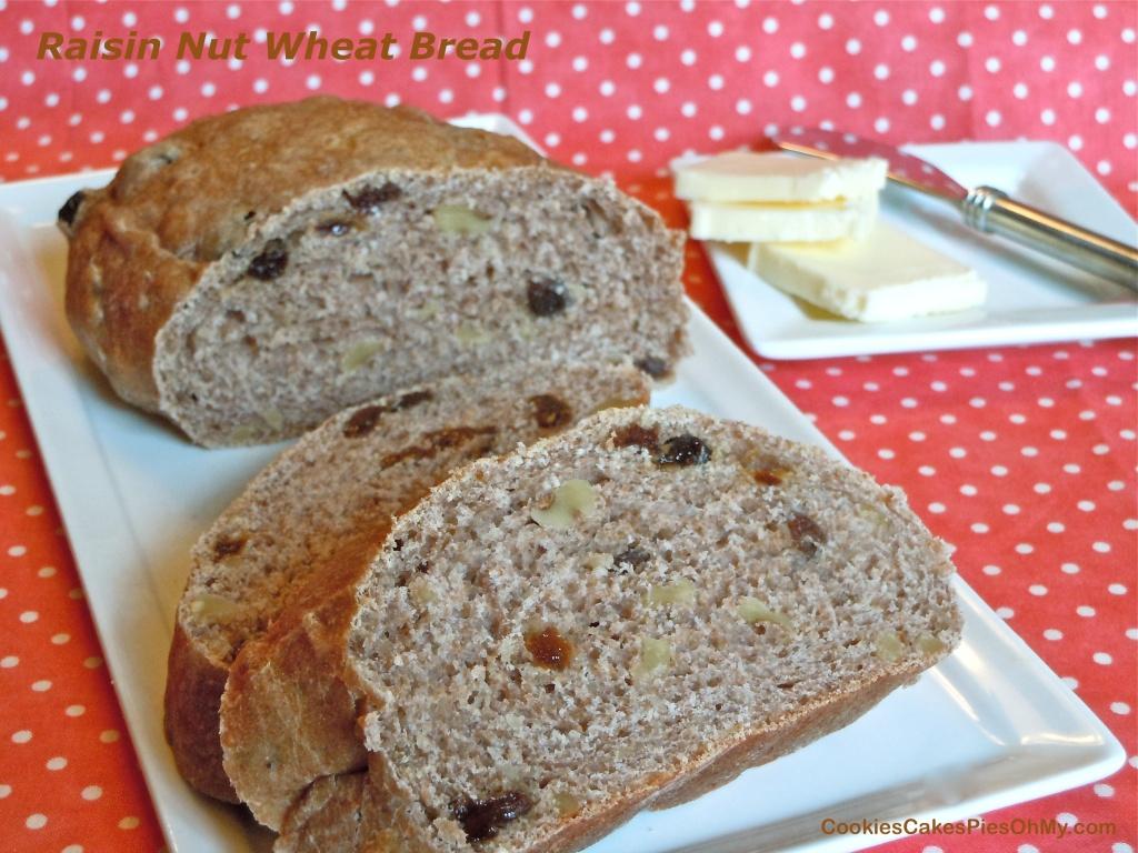 Raisin Nut Wheat Bread!
