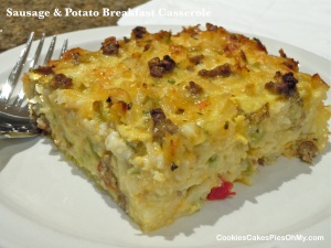 Sausage & Potato Breakfast Casserole 2