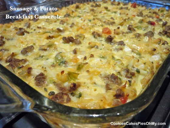 Sausage & Potato Breakfast Casserole