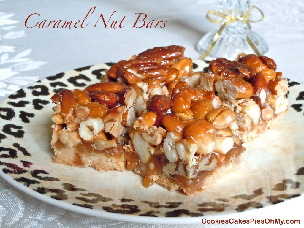 Caramel Nut Bars