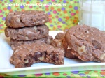 Chocolate Coconut Crunch Cookies