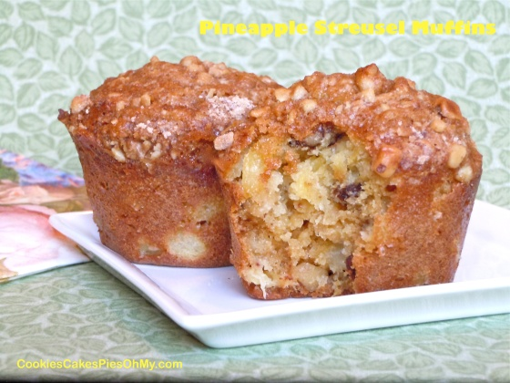 Pineapple Streusel Muffins