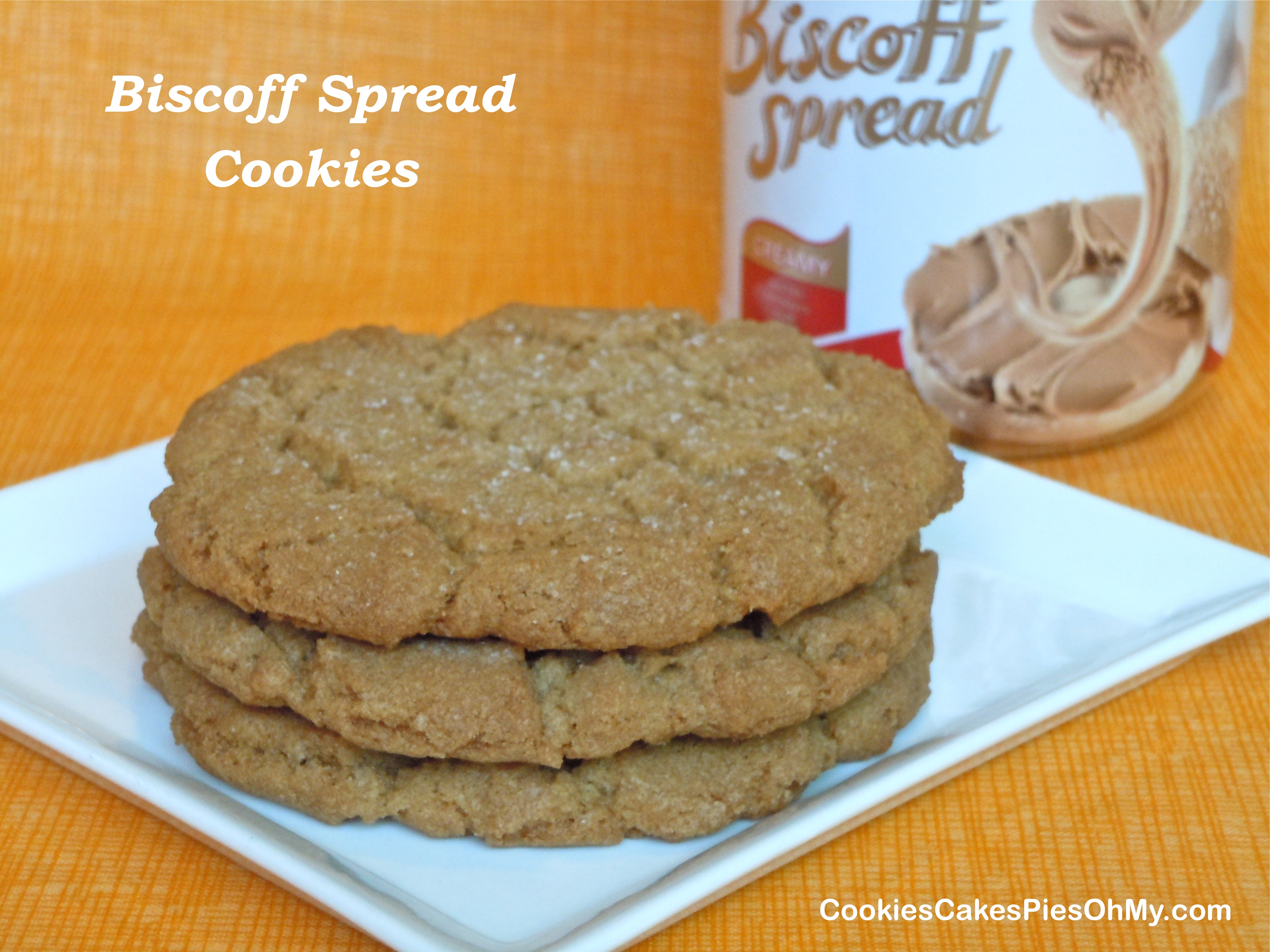 Homemade Biscoff Cookies With Biscoff Cream Cheese Frosting Recipe ...