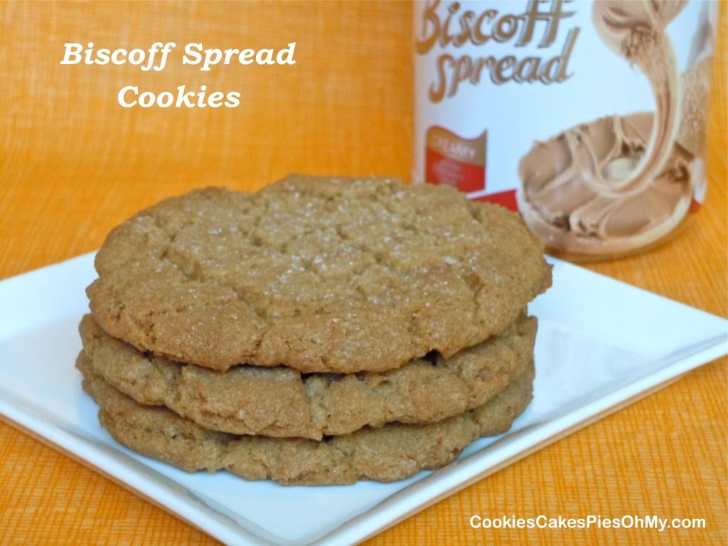 Biscoff Spread Cookies