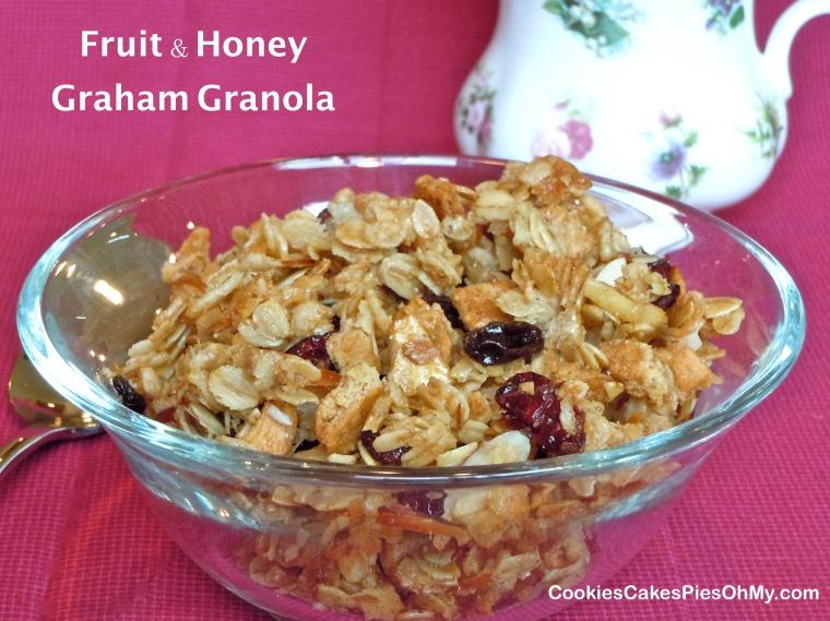 Fruit & Honey Graham Granola