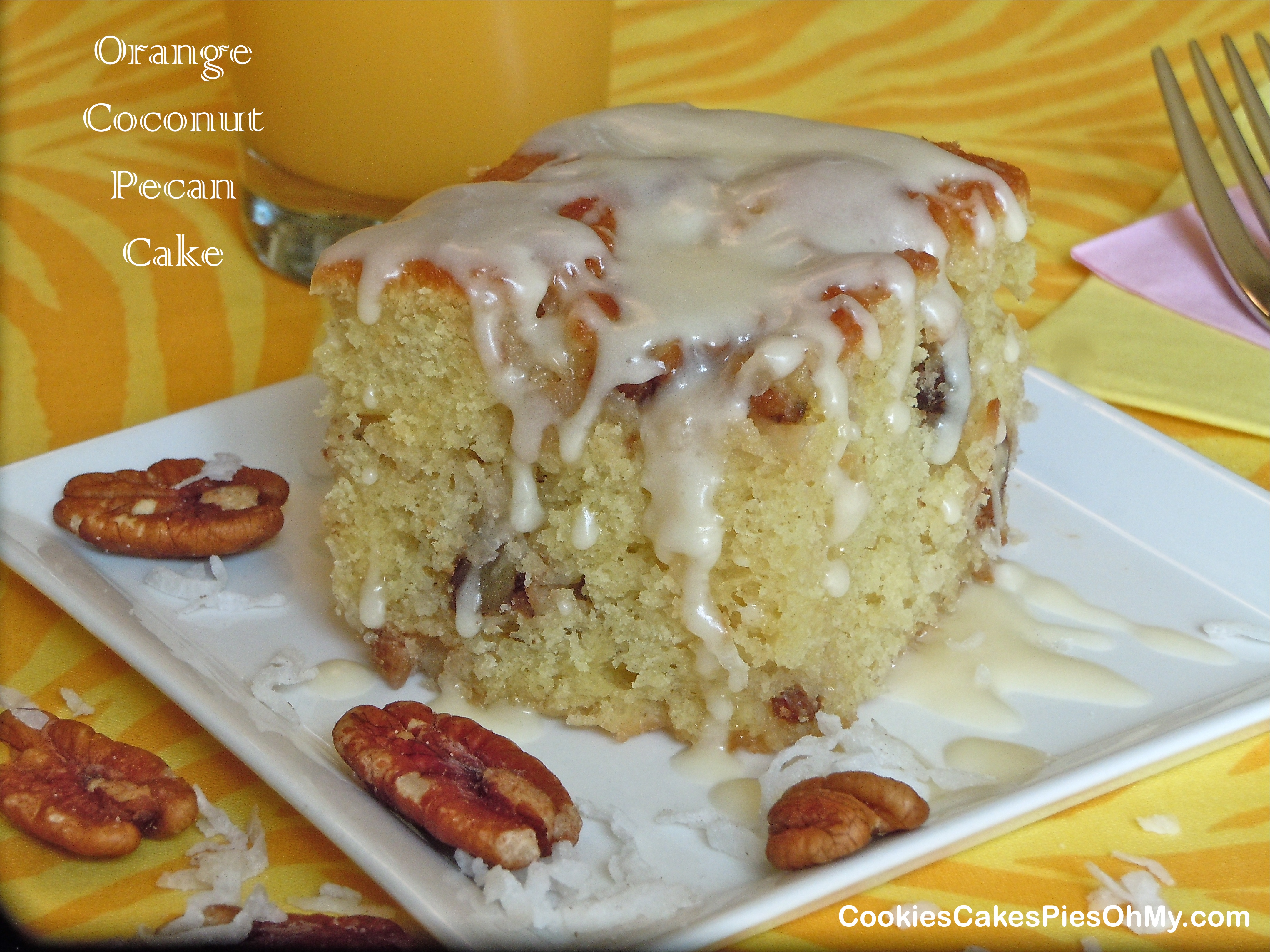 Glazed Sour Orange And Coconut Pudding Cakes Recipes — Dishmaps