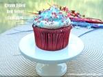 Cream Filled Red Velvet Cupcakes