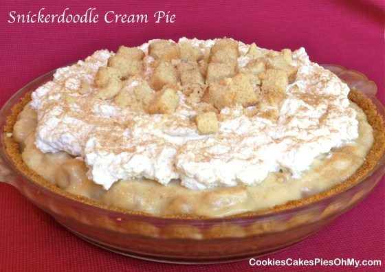 Snickerdoodle Cream Pie