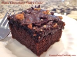 Dark Chocolate Snack Cake 2